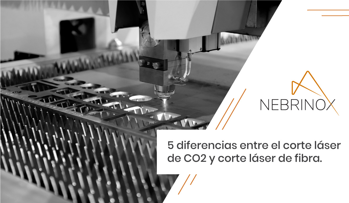 5 diferencias entre el corte láser de CO2 y de fibra