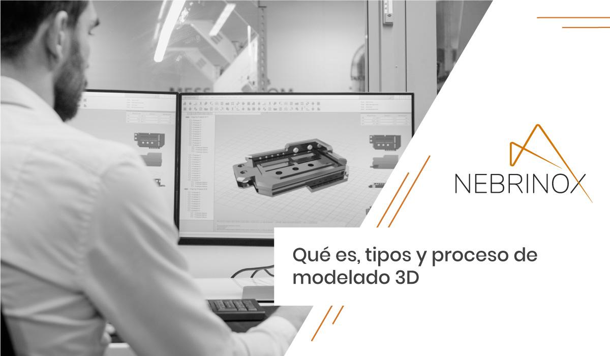 Qué es, tipos y proceso de modelado 3D